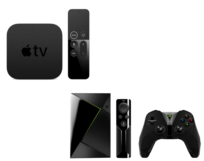 Apple TV 4K vs Nvidia Shield TV - tvandprojectors com